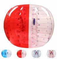Большая скидка 0.8 мм ПВХ 1.5 м Диаметр надувной мяч бампера zorb Футбол человека молоток мяч пузырь Футбол для для взрослых