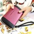 2016 nueva moda joker monedero de la cartera para mujer con paneles diseñador embrague carteras para hombre del monedero , bolsa de la moneda Carteira bolsa