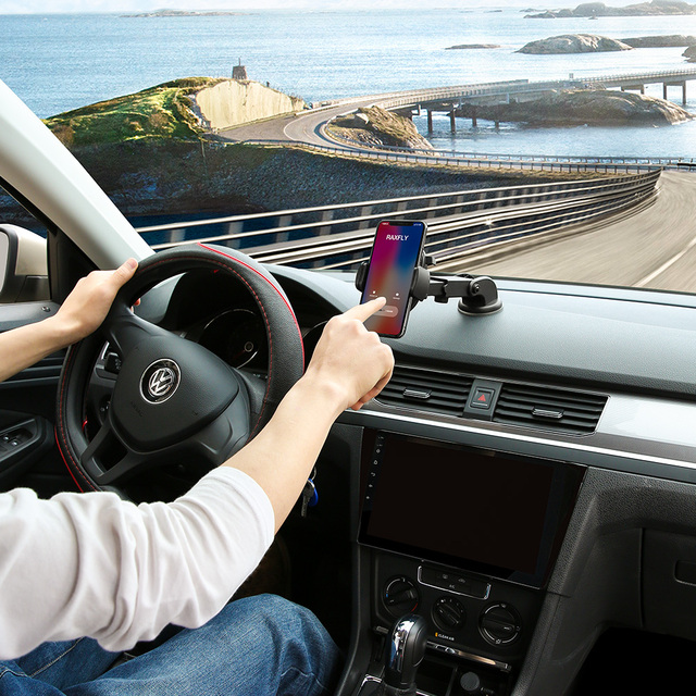 Luxury Mount Windshield Car Phone Holder