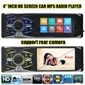 New 4.1 ''polegadas 16:9 TFT tela grande 12 V áudio do carro Jogador MP5 suporte APE um din in dash Car Audio SD/MMC suporte câmera traseira