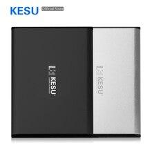 Кесу 2,5 «для тела 9,5 мм Портативный внешний жесткий диск USB3.0 2 ТБ 1 ТБ 500 Гб HDD External HD Жесткий диск для ПК/MC, PS4, ТВ коробка
