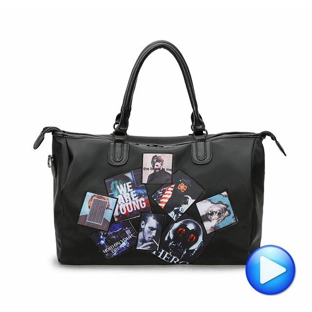39d3acdf35d0 2018 Brand New Women Traveling Sport Yoga Bag Luggage Pack Waterproof  Oxford Gym Bag Fitness Handbags Shoulder Bag Sac De Sport
