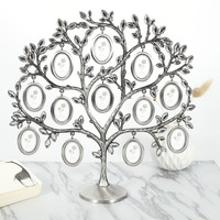 30 30cm Family Tree Hanging Photo Picture 12 Frame Holder Table Top Desk Display Decor Newest