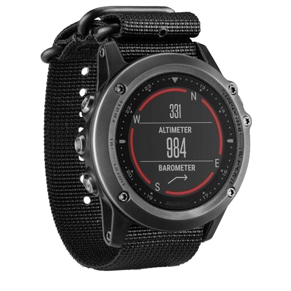 все цены на  26mm Nylon Strap 5 Ring Watch Replacement Band For Garmin Fenix 3 Watch Splendid New Luxury Wrist Watches Bracelet Correa Reloj  онлайн