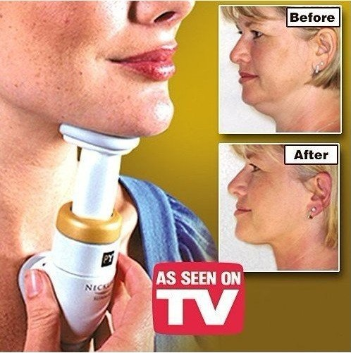 Creative DIY Neckline slimmer beauty chin massager firm neck slimming trainer exerciser as health care series AS SEEN ON TV
