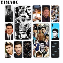 Handsome Man Sale Zac Efron Soft Silicone Case for Apple Iphone 11 Pro Xr Xs Max X 10 8 Plus 7 6S 6 SE 5S 5 7Plus 8Plus