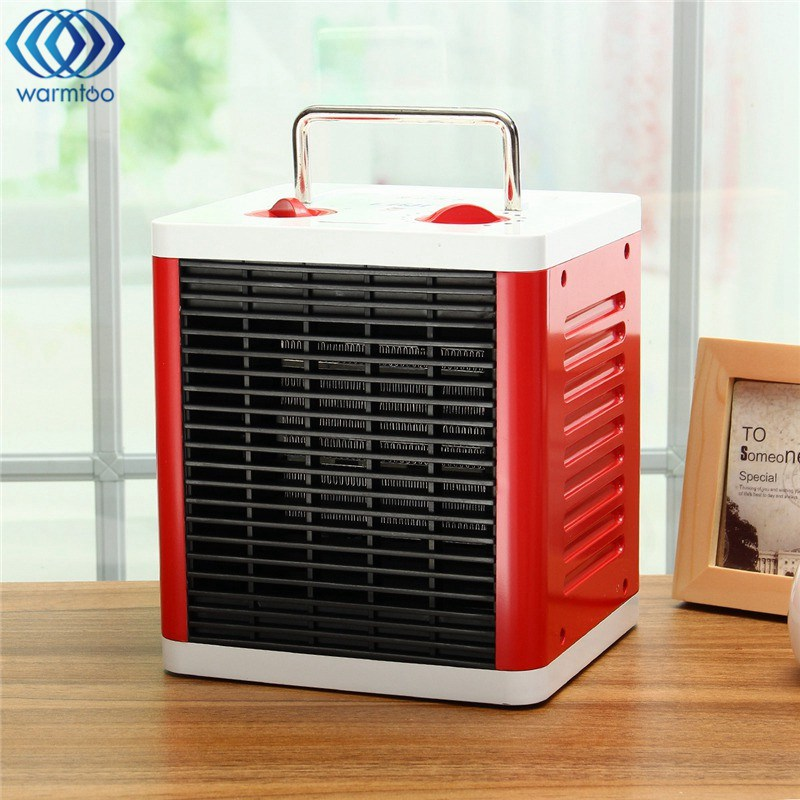 220V 1500W Air Heater PTC Ceramic Heating Home Office Warmer Bathroom Waterproof Electric Heating Adjustable Thermostat 220v 240v reptile aninal ceramic heater pet heating lamp 50w