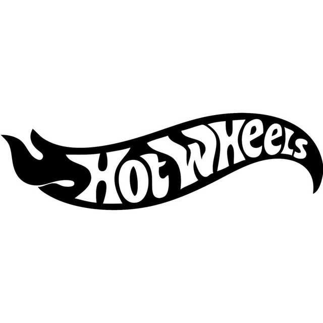 20x6cm hot wheels logo originality vinyl decals car sticker car styling accessories