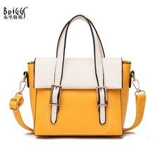 BRIGGS Fashion PU Leather Women Handbag Small Crossbody Bags Ladies Casual Tote Luxury Handbags New 2019 Shoulder For