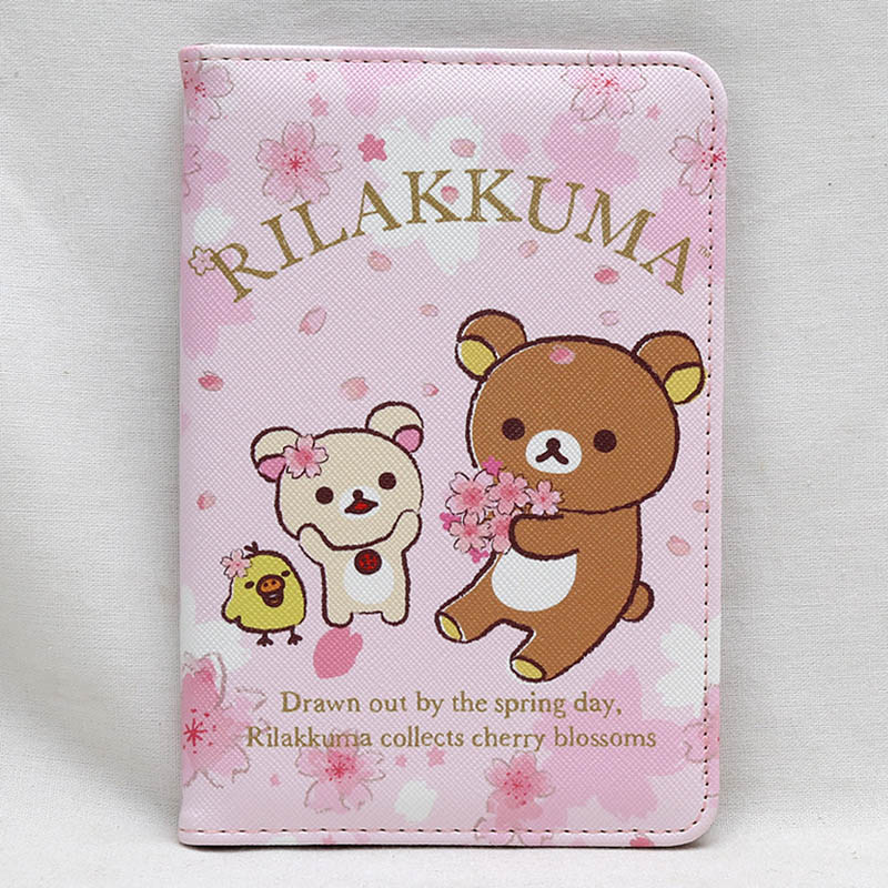 Card & Id Holders Knowledgeable Lovely Rilakkuma Totoro Travel Passport Holder Cover Pu Leather Identity Id Card Credit Card Holder Bag Document Folder 14*9.6cm