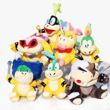 7styles Super Mario Bowser Koopa Plush Toy Wendy Lemmy Iggy Roy Morton Larry Ludwing Stuffed Soft