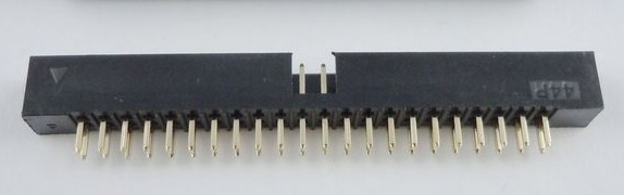 5 Pcs Box Header 44 Pin 2x22P 2.0mm Pitch Male Shrouded PCB straight IDC Socket dual rows space 2.0 Through hole DIP