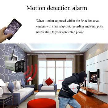 Evolylcam Audio Sony Imx323 Sensor Wireless 1080P 2MP Micro SD/TF Card Slot IP Camera WiFi P2P Onvif Security Outdoor CCTV Cam