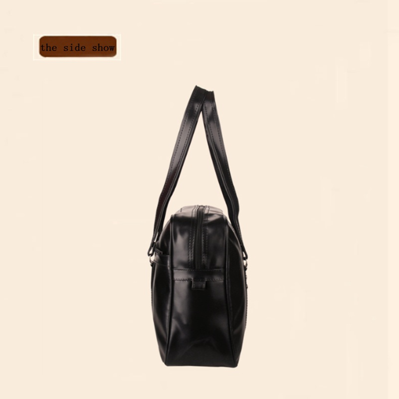 67e1294545a8 Bow Japanese School Handbags High College Students Uniform Bag Unisex  Shoulder Bags PU Leather For Women Men-in Top-Handle Bags from Luggage    Bags on ...