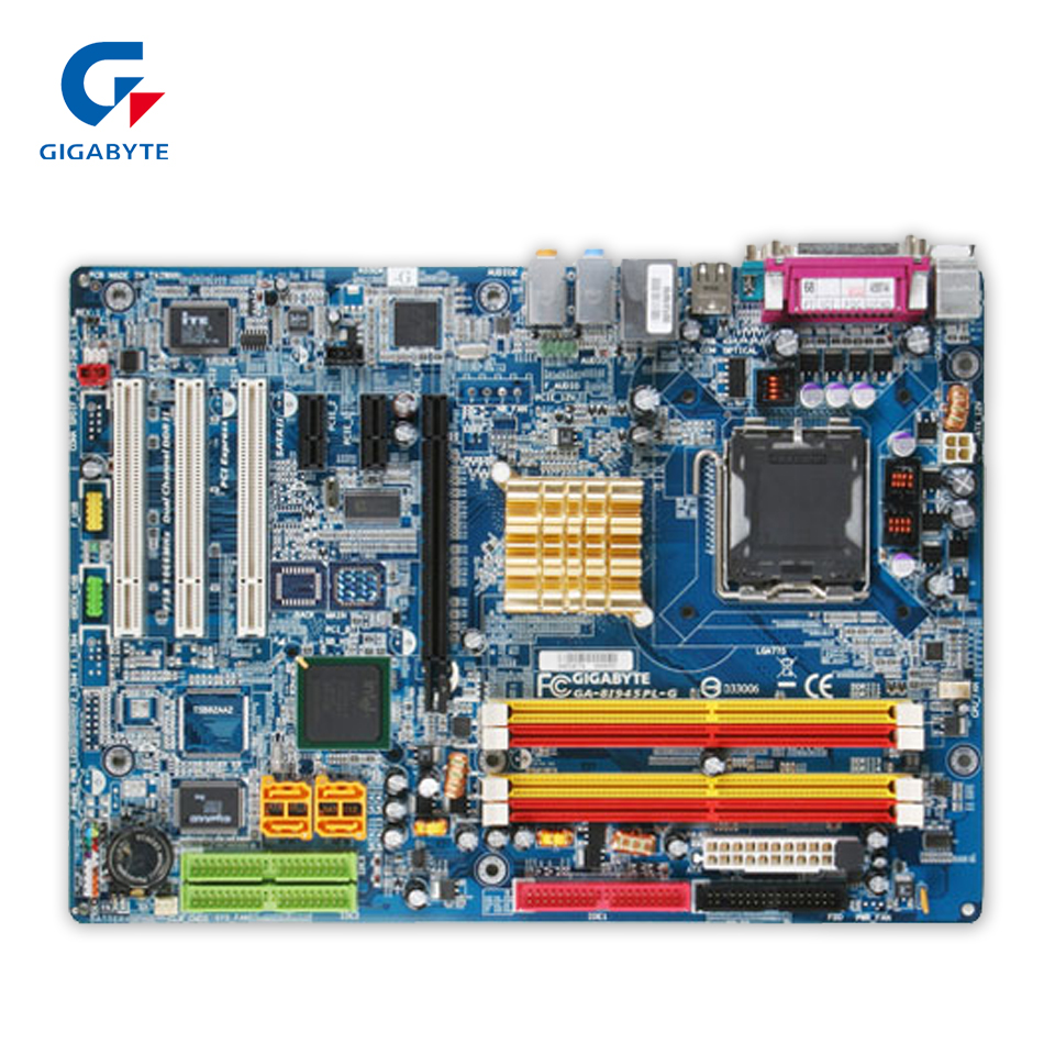 Gigabyte GA-8I945PLG Original Used Desktop Motherboard 8I945PLG 945PL LGA 775 DDR2 ATX used original for lenovo 945gc m2 lga 775 ddr2 for intel 945 motherboard