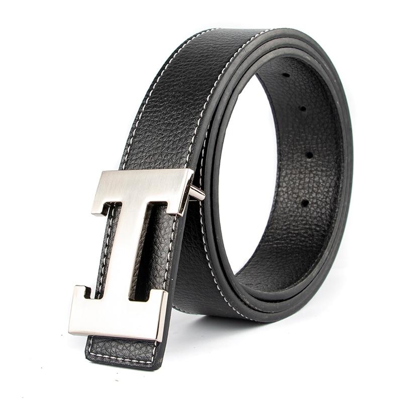 2019 New Luxury Designer Brand Designer   Belts   Men High Quality Male Genuine Real Leather Women   Belt   Strap for Jeans Red
