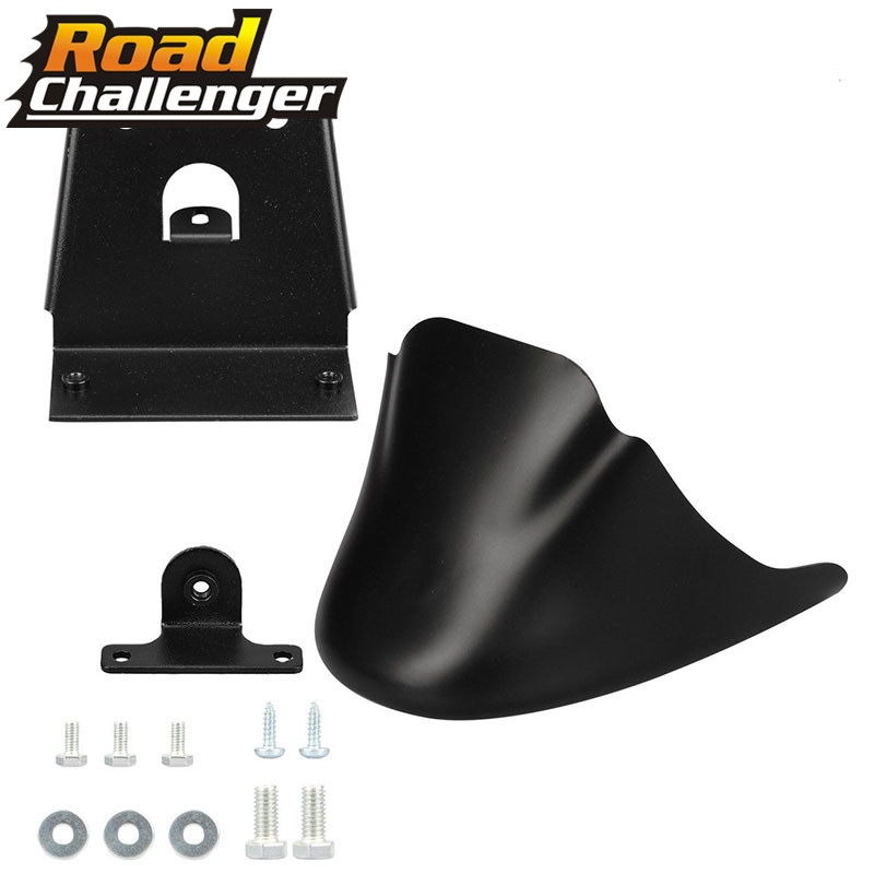Motorcycle Matte/Light Black Front Bottom Spoiler Mudguard Air Dam Chin Fairing Fit For Sportster <font><b>1200</b></font> XL Iron 883 image