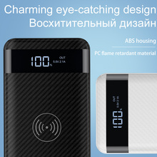 HOCO QI Wireless Charger Power Bank 10000mah with Digital Display
