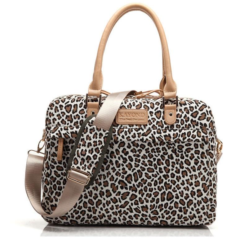 Fashion Leopard Design 13 14 15.4 15.6 Inch Laptop Women Messenger Bag for Macbook Air Pro 13 15 Inch Laptop Bag Sleeve Case