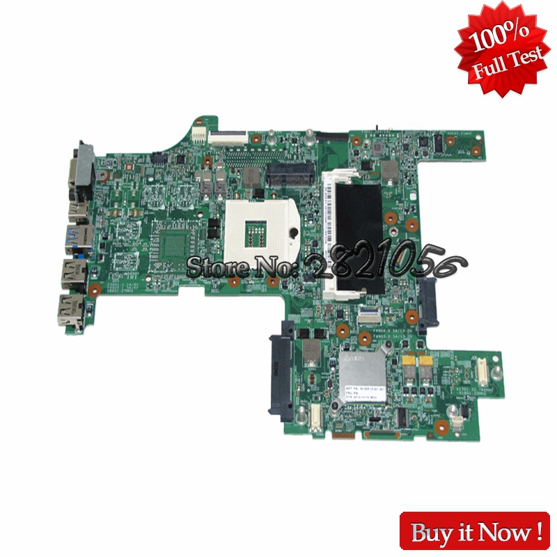 NOKOTION Mainboard 04Y2008 for lenovo Thinkpad L430 HM77 laptop motherboard GMA HD4000 DDR3 Fully Tested laptop mainboard for ibm thinkpad t420 motherboard 63y1967 system board 100% tested ok