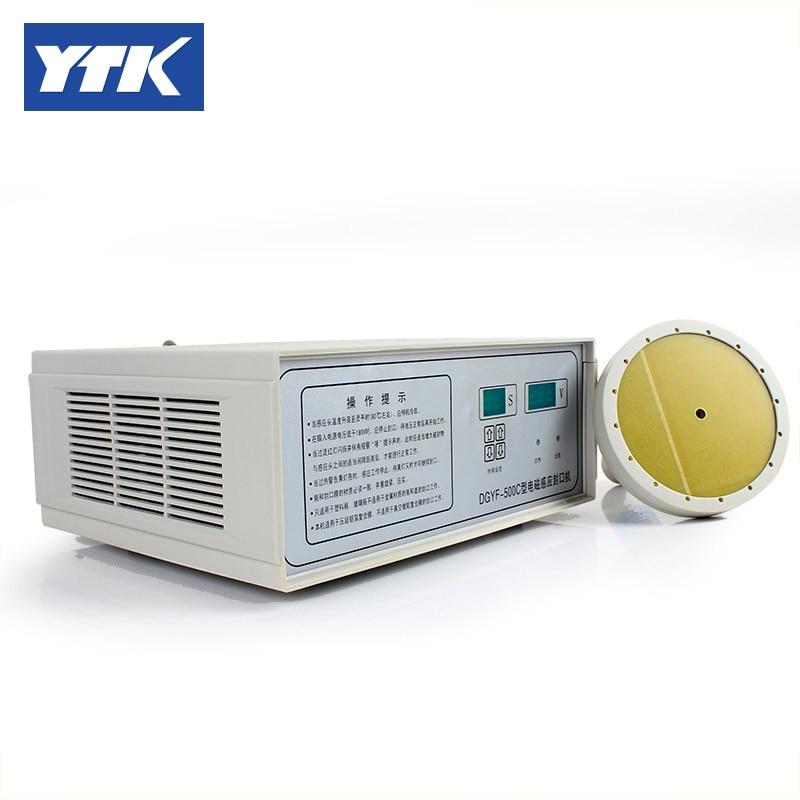 YTK 70-130mm Induction Aluminum Foil 120mm Vacuum Sealer Cap Sealing