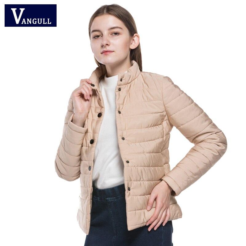 Wadded Winter Jacket Women Cotton Short Jacket 2017 New Slim Padded Coat Outwear High Quality Warm Chaquetas Parka Feminina