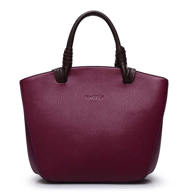 Mulheres genuíno bolsas de couro do vintage bolsas de grife de alta qualidade sacos de mão das senhoras sacos de ombro bolsos mujer sac a principal