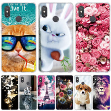 For Xiaomi Mi Max 2 3 Mix 2s Case Painted Silicone Cover Max3 Max2 3D Cute Coque Cases