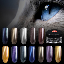 2017 New 1.5g/box 3D Effect Cat Eye Magnet Magic Mirror Powder Dust UV Gel Polish Nail Art Glitter Pigment DIY Manicure Tools