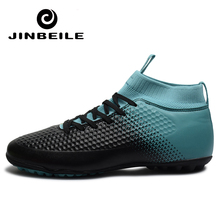 Indoor Sock Breathable Chuteira Futebol TF/FG High Ankle Top Men Soccer Shoes Sport Superfly Original TF Football Boots Size 46