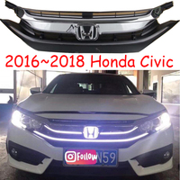 Динамический переднего бампера, гриль, 2016 ~ 2018 Civi С дневного света, автомобильные аксессуары, мотоцикл; решетка, civi c туман, понимание, пилот,