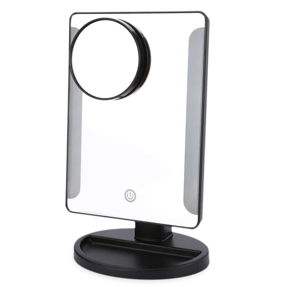 Most Popular Makeup Mirrors 36 Led Usb Power Portable Plastic Framed Mirrors Folding Toilet Lighted Makeup Mirror With Magnifier they do it with mirrors