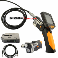 3 5 LCD Inspection Camera With 3M Cable 3 9 Mm Borescope Endoscope 4X Zoom Snake