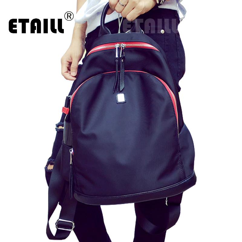 2016 New Women Men High Quality Waterproof Nylon Backpacks for Teenage Girls Famous Brand School Bags Rucksack Sac a Dos Femme backpack women school bags brand backpacks women high quality large capacity teenager backpacks for teenage girls student bags