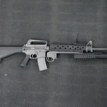 """M16A1+ M203 Вьетнамская война США военный штурмовой 1/6 винтовка подходит 1"""" Солдат фигурка куклы Acc коллекции"""