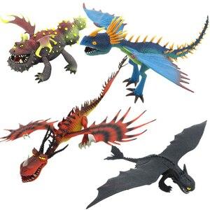 Image 1 - Servwell figurine Dragon Master, jouet furtif de nuit sans dents, jouet daction, Nadder Hageffen, mortel, jouet de collection pour enfants