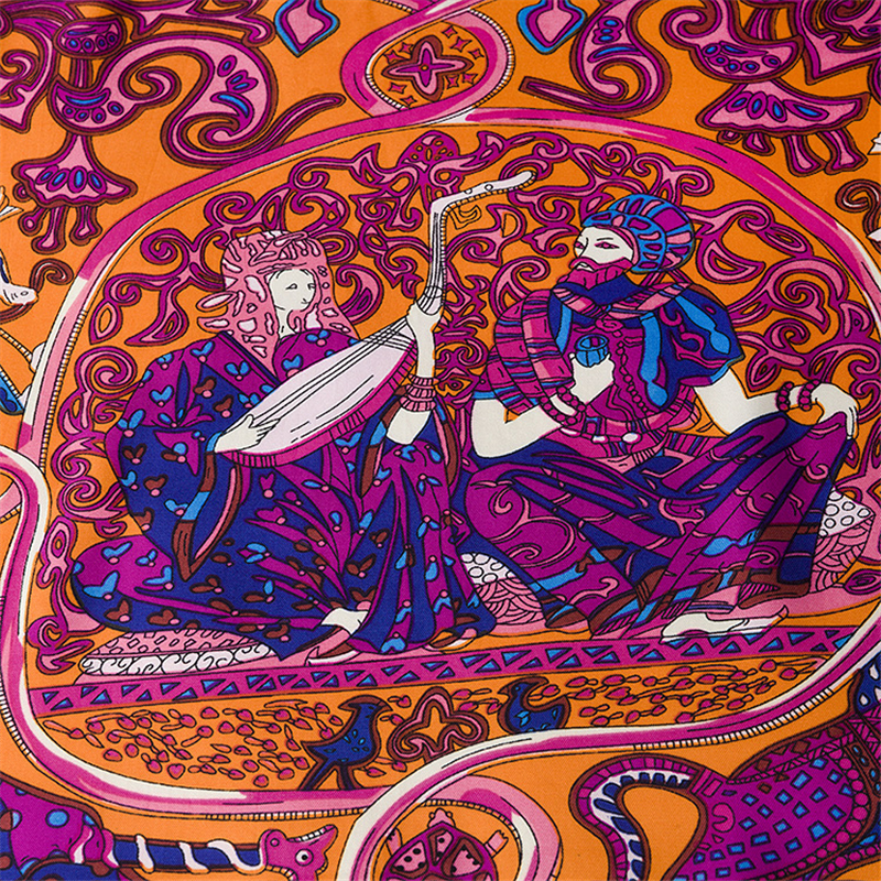 მოდის Twill აბრეშუმის ქალთა - ტანსაცმლის აქსესუარები - ფოტო 6