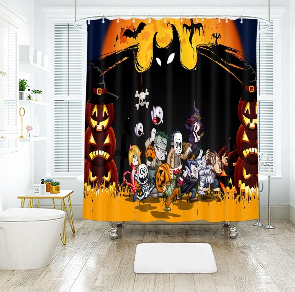 Carnival Halloween Waterproof Shower Curtain 3d Photo