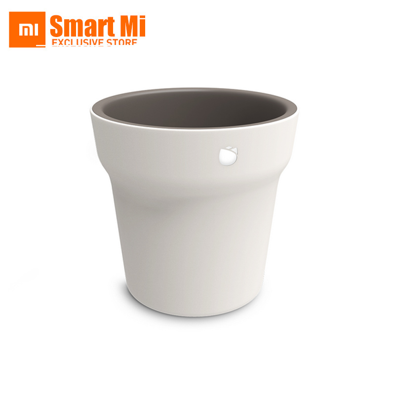 ФОТО Xiaomi Crowdfund Smart Flower Pot Water Fertilizer Monitor IPX6 Full Body Waterproof With Smartphone Bluetooth Remote Control