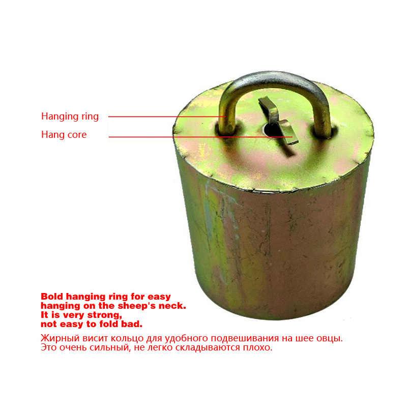 牛馬羊機器放牧鐘アップグレード版防止損失亜鉛メッキ鋼材ベル