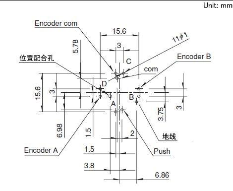 Original Rkjxt1f42001 Multifunction Switch Plus Four Way Push