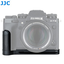 JJC Камера Quick Release Plate L кронштейн держатель рукоятка для ЖК-дисплея с подсветкой Fujifilm X-T3 X-T2 XT2 XT3 Камера s заменяет Fuji MHG-XT3 MHG-XT2