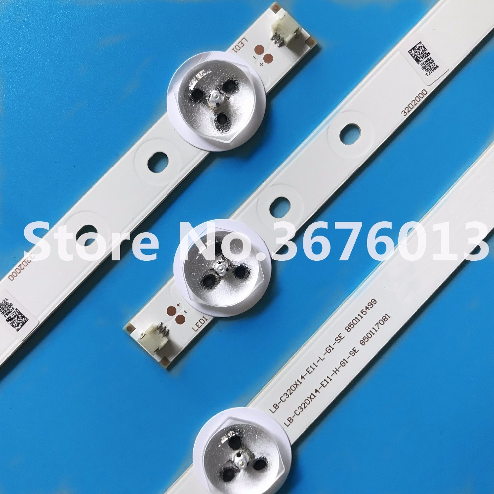 Led Bar Lights Have An Inquiring Mind Led Backlight Strip 30 Pcs Lb-m320x13-e1-a-g1-se2 100% High Quality Materials Lights & Lighting