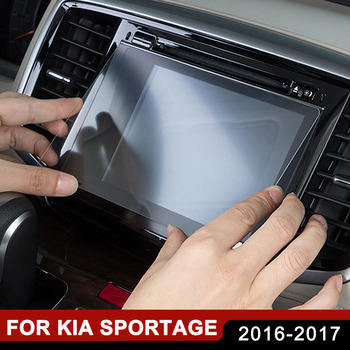 7 8 Inch Car GPS Navigation Tempered Glass Screen Protector Film for KIA Sportage QL 2016 2017 RIO X-Line 2018 Accessories image