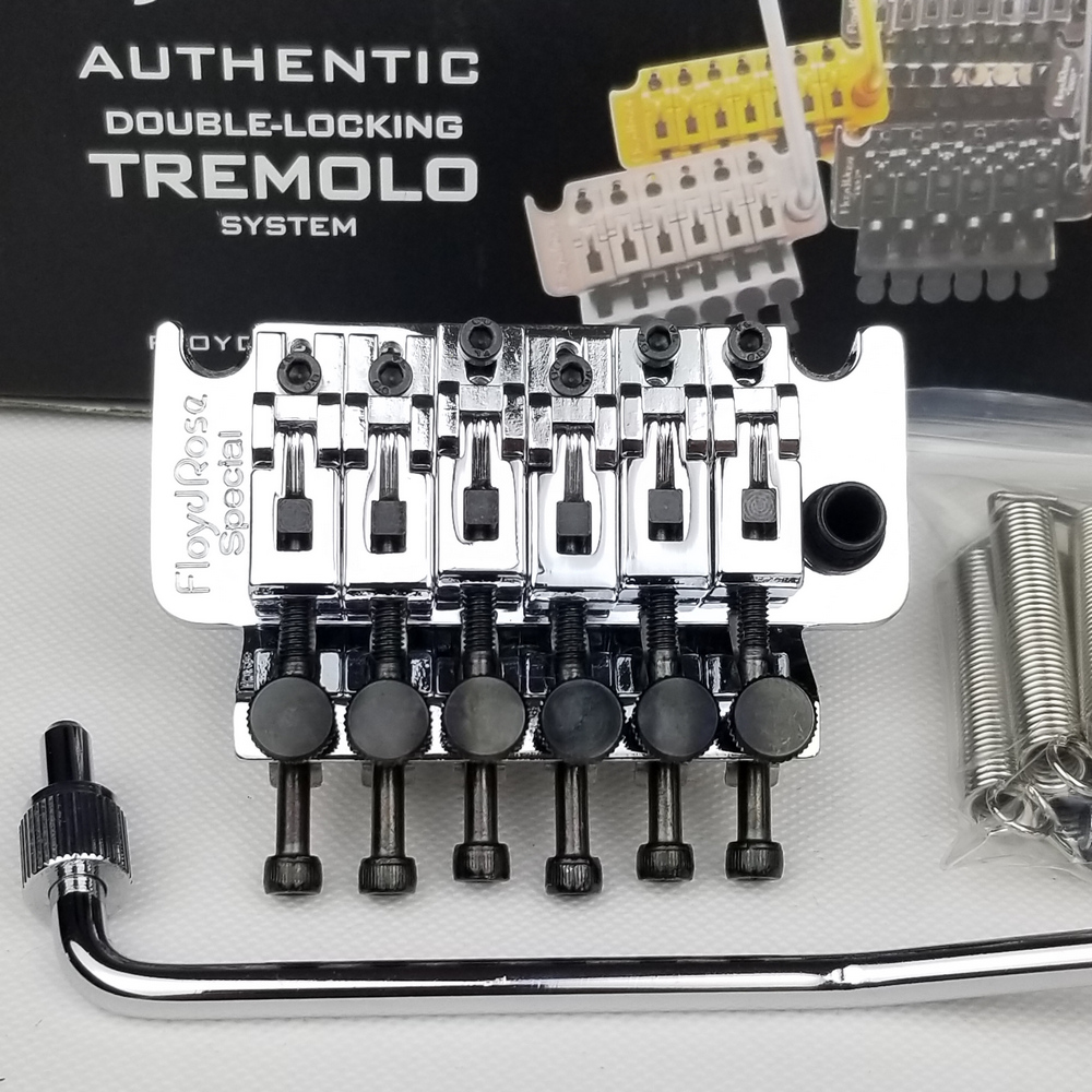 ARM Floyd Rose Special Electric Guitar Locking Tremolo System Bridge Chrome silver ( Without packaging )