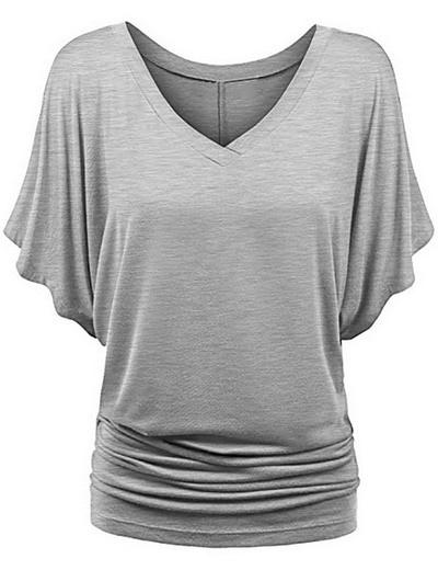 2019 Summer Casual Women Tees Cotton Round Neck Designer Letter Print   T  -  shirt   Paris   T     Shirt   Short Sleeve Tops