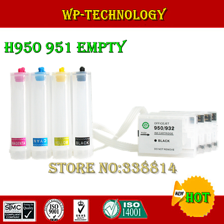 [Empty] CISS suit for HP950 HP951, suit for HP officejet pro 8600 printer, Without ink,With show volume ARC chip new bulk ciss for hp950 951 ciss system for hp 8600 printers