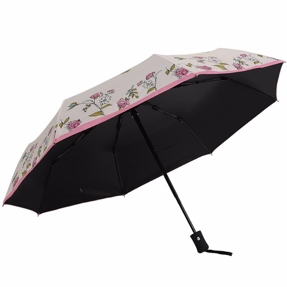 Flower series maple leaf 8 bone sun Umbrellas Household Merchandises necessities rain and rain creative free shipping sale 3