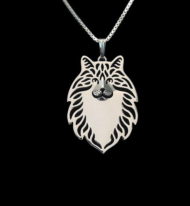 Купить ожерелье для женщин с изображением мультяшной собаки золотое