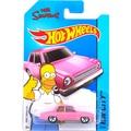 Горячие Продажи Hot Wheels Симпсоны Семьи Розовый Модели Автомобилей Металла Diecast Автомобилей Коллекция Детские Игрушки Автомобиля Для Детей Juguetes